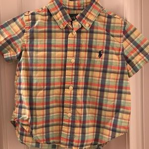 EUC Toddlers Polo byRalph Lauren shirt